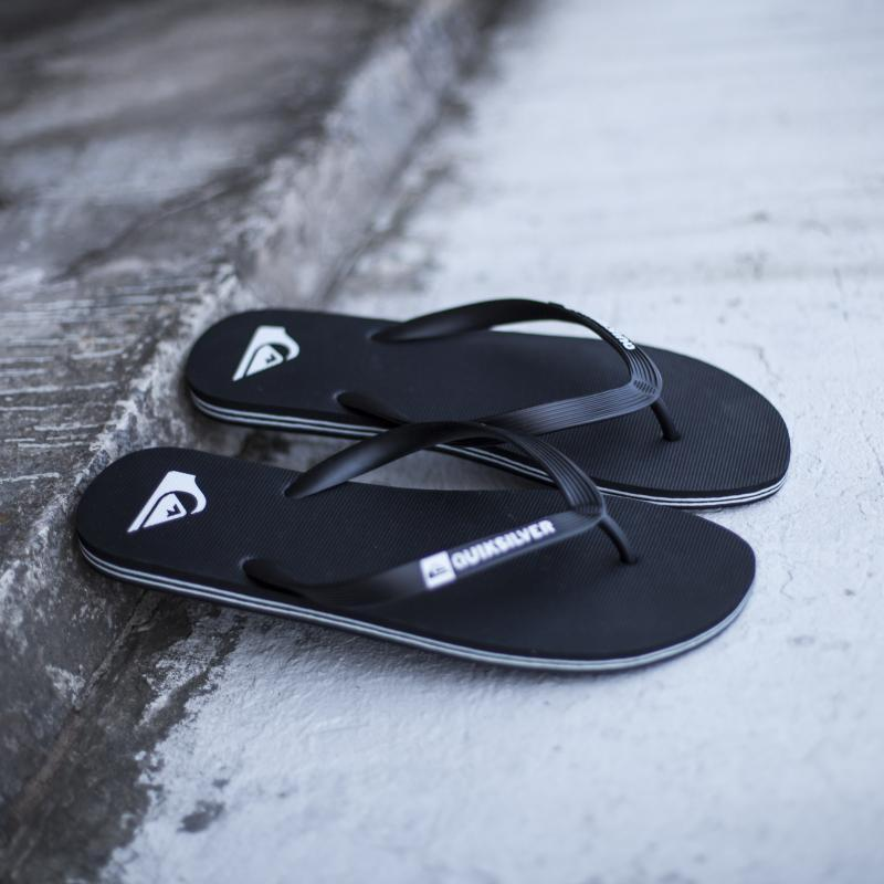 Вьетнамки Quiksilver Molokai Black/Black/White 1