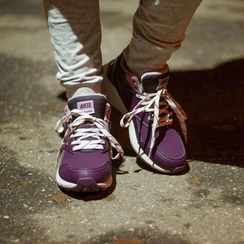 Ботинки зимние женские Anta 82746923-3 Violette