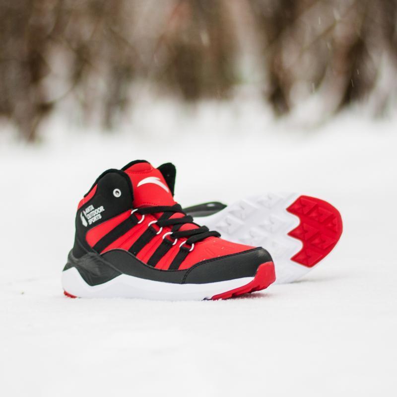 Ботинки зимние детские Anta W31746905-2 Black