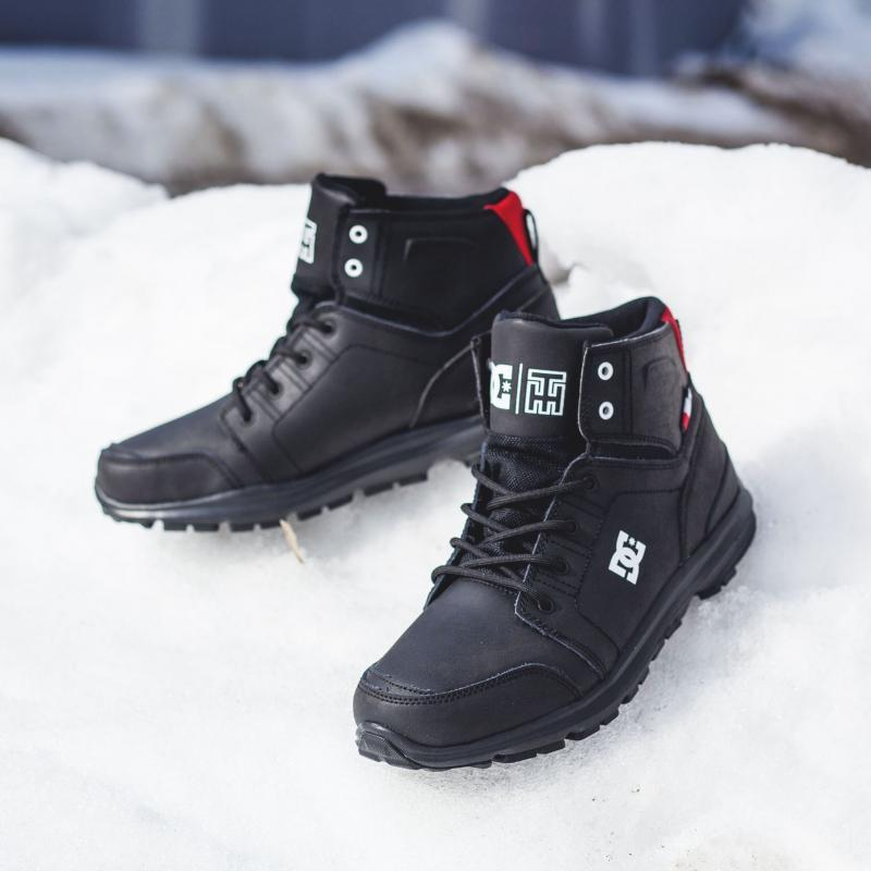 Ботинки высокие DC Shoes Torstein Black/Athletic Red/W